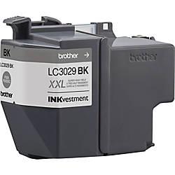 Brother Genuine LC3029BK INKvestment Super High