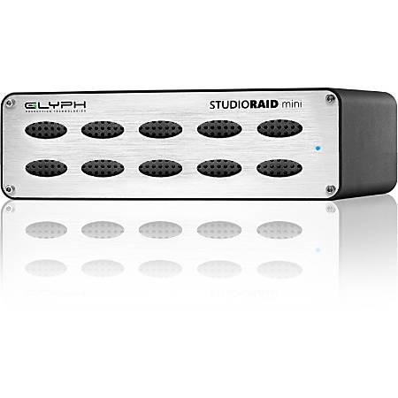 Glyph StudioRAID Mini 4TB Portable Hard Drive, eSATA
