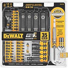 Dewalt 35 Pc IMPACT READY Screwdriving