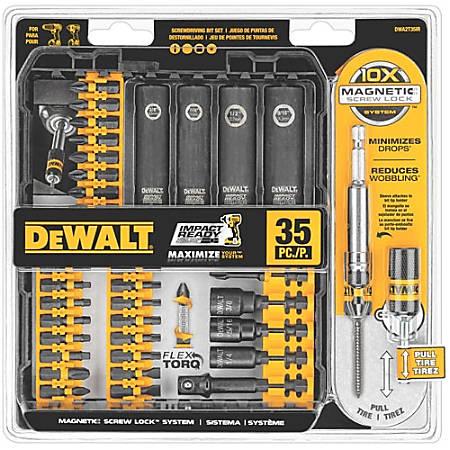 Dewalt 35-Pc. IMPACT READY Screwdriving Set