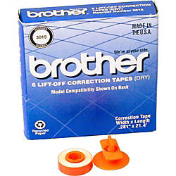 Brother 3015 Lift Off Tapes Pack