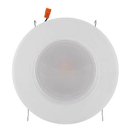"Euri 5-6"" Round LED Trim Kit/ Recessed Downlight, 840 Lumen, 12 Watts, 3000K/Warm White, 1 Each"