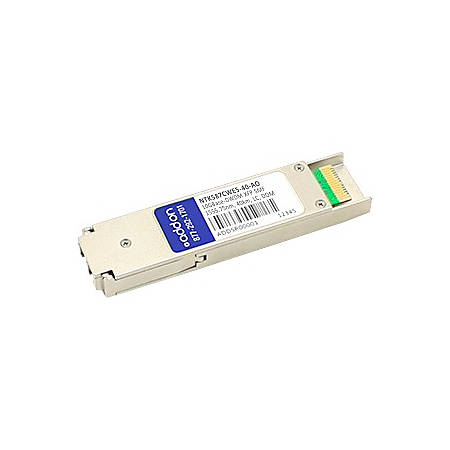AddOn Ciena NTK587CWE5 Compatible TAA Compliant 10GBase-DWDM 100GHz XFP Transceiver (SMF, 1555.75nm, 40km, LC, DOM)