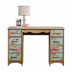Sauder Eden Rue Desk Scribed Oak
