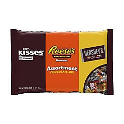 Hersheys Chocolate Candy Assortment 26 Oz
