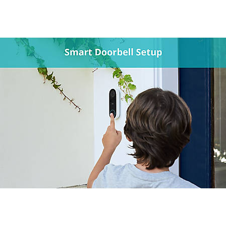 Office Depot Smart Doorbell Setup