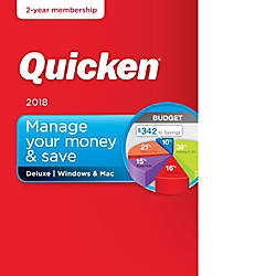 Quicken Deluxe 2018 2 Year Subscription