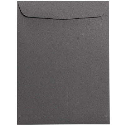 Orange Recycled JAM PAPER 10 x 13 Open End Catalog Colored Envelopes 50//Pack