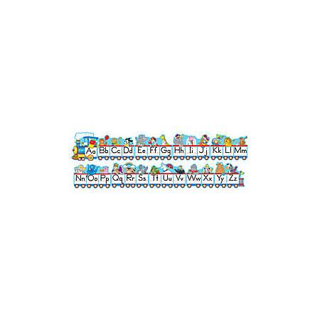 Carson-Dellosa Bulletin Board Set — Alphabet Train