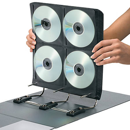 Find It® Gapless Mega CD/DVD Binder, 272 Capacity, White