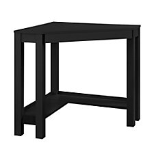Ameriwood Home Parsons Corner Desk Black