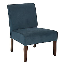 Ave Six Laguna Chair AzureDark Espresso