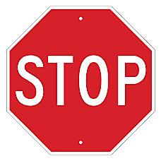 Brady STOP Sign 18 x 18