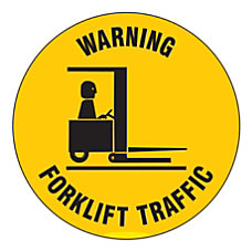 Brady Warning Forklift Traffic Anti Skid