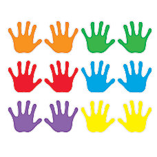 Trend Classic Accents Variety Pack Handprints
