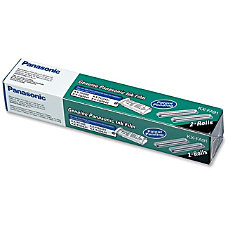 Panasonic Ribbon Thermal Transfer 1 Each