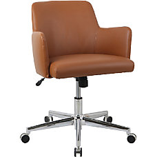 Lorell Bonded Leather Task Chair Bonded