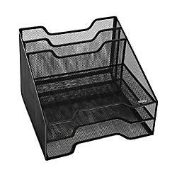 Rolodex Mesh Tray Sorter Combo Organizer