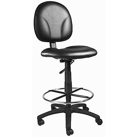 Boss Drafting Chair, Black