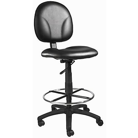 Boss Drafting Chair, Black, B1690-CS