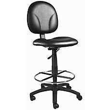 Boss Drafting Chair Black B1690 CS