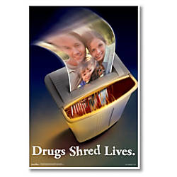 ComplyRight Substance Abuse Poster Illegal Drug