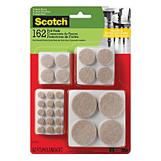 Scotch Floor Protection Felt Pads Beige