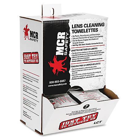 R3® Safety Anti-Fog Premoistened Towelettes, Box Of 100