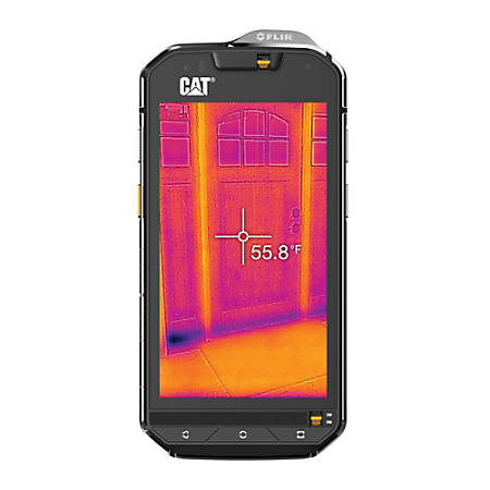 Cat® S60 Waterproof Cell Phone, Black, CS60SUBUSAUN