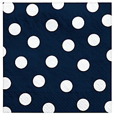 Amscan Polka Dots 2 Ply Lunch
