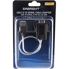 Sabrent USB 20 To 9 Pin