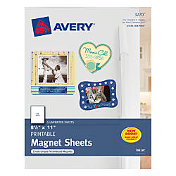 Insane image in avery printable magnet sheets