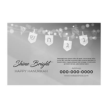 Window Decal Template, Bright Shine, Horizontal
