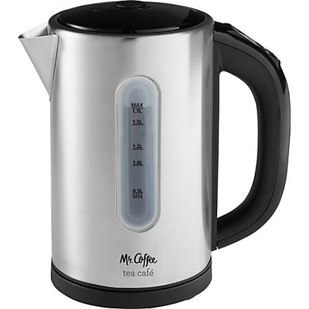 Rubbermaid Electric Kettle - 1500 W - 1.80 quart - Brushed Stainless Steel
