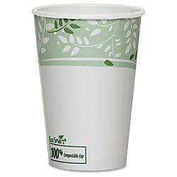 Dixie EcoSmart Viridian Paper Hot Cups