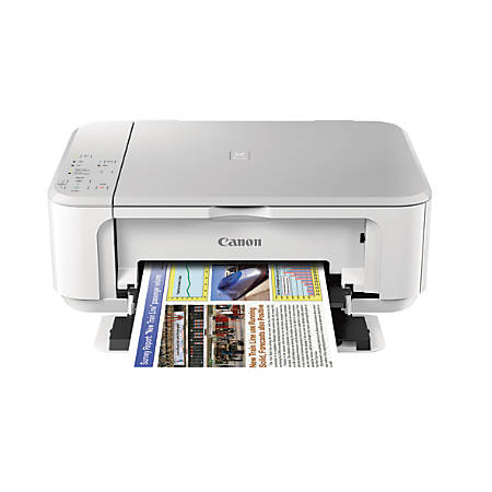 Canon Pixma Wireless Inkjet All In One Printer Scanner Copier And