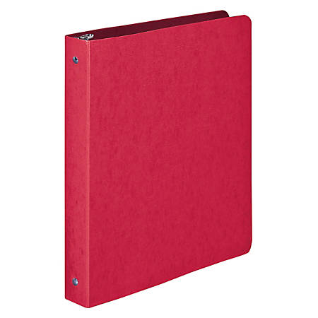 "Wilson Jones® Presstex® Binders, 1"" Rings, Executive Red"
