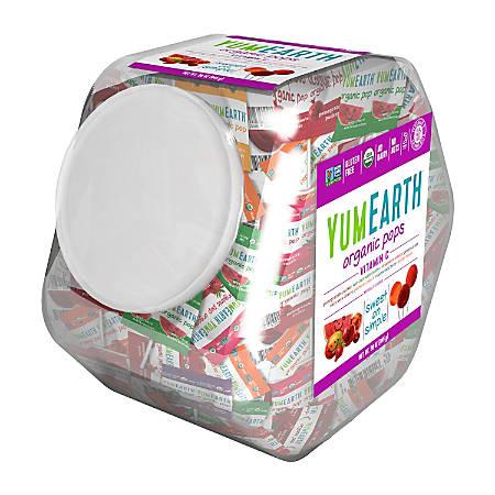 Yummy Earth Organic Vitamin C Lollipops, 30 Oz