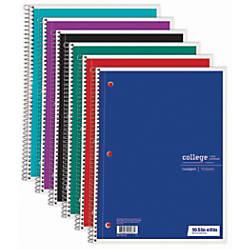 Just Basics Spiral Notebook 7 12
