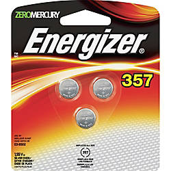 Energizer 357 WatchCalculator Batteries Proprietary Battery