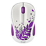 Logitech® M325c Wireless Mouse, Purple Peace, 910-005345