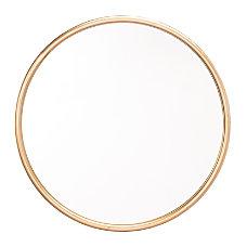 Zuo Modern Ogee Round Mirror Large