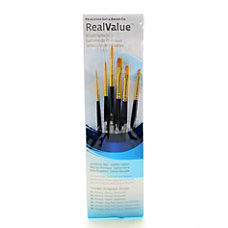 Princeton Real Value Paint Brush Set