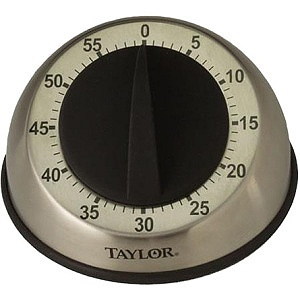 Taylor Analog Timer - 1 Hour - For Kitchen Item # 902648