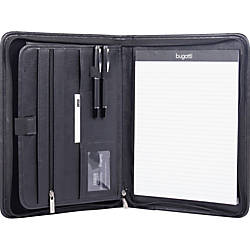 Swiss Mobility Zippered Tablet Padfolio Black