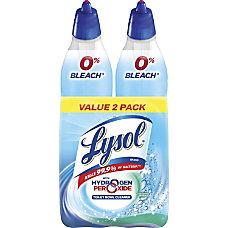 Lysol Hydrogen Peroxide Toilet Cleaner 019