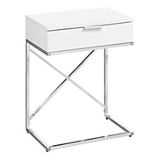 Monarch Specialties Accent End Table Rectangular