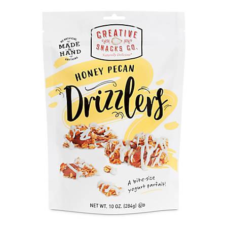 Creative Snacks Honey Pecan Drizzlers, 10-Oz Bag