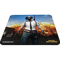 SteelSeries QcK Mouse Pad PLAYERUNKNOWNS BATTLEGROUNDS