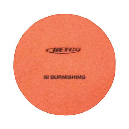 """Betco® Crete Rx Burnishing Pads, 24"""", Pack Of 5"""